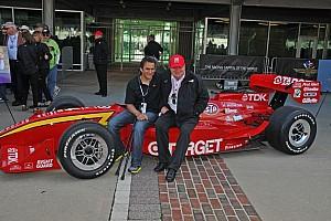 Zanardi gifted with Ganassi car from Laguna Seca race in 1996