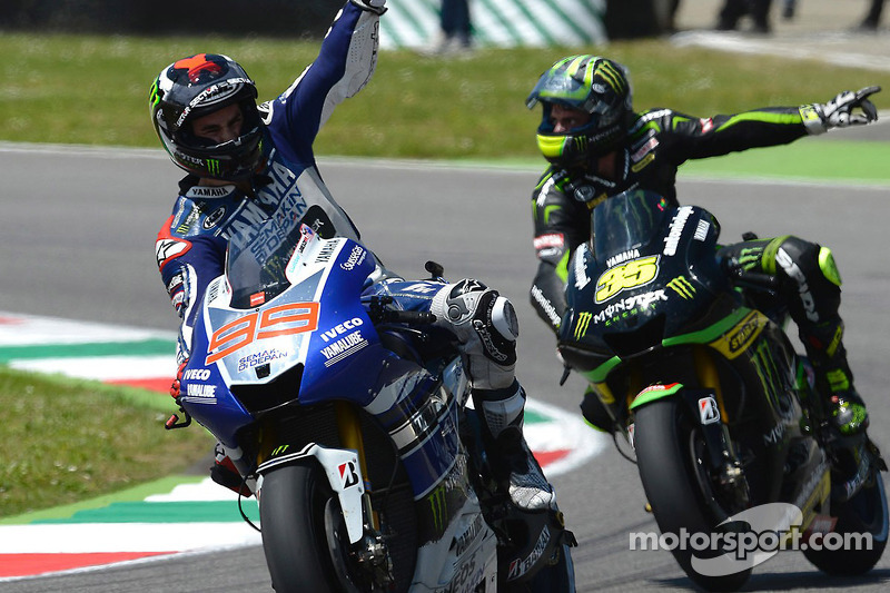Lorenzo makes it three in a row with masterful Mugello victory
