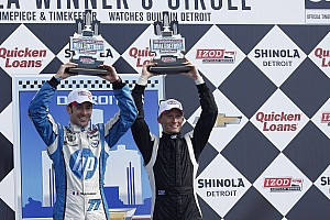 Conway takes third on Race 2 in Detroit