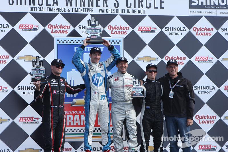 Pagenaud completes Honda's Detroit sweep