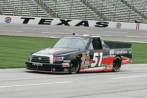 Hackenbracht's truck series debut cut short at Texas
