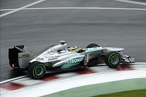 Mercedes' Lewis will start in second place for the Canadian GP