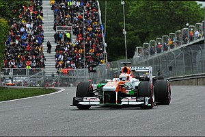 Sahara Force India celebrated its 100th race with points in Canada