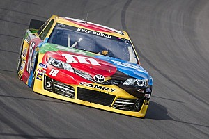 Kyle Busch: Looking for a little luck of the Irish Hills