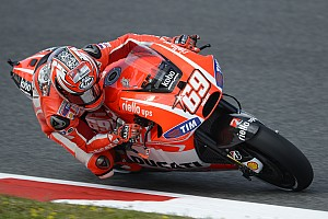 Second, third rows for Ducati Team at Catalan GP