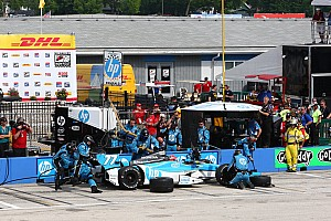 Pagenaud 12th, Vautier 21st on one-mile oval  at Milwaukee IndyFest