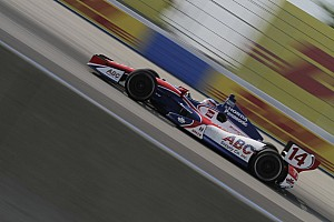 Yellow flag cost Sato a chance of podium on Milwaukee Mile