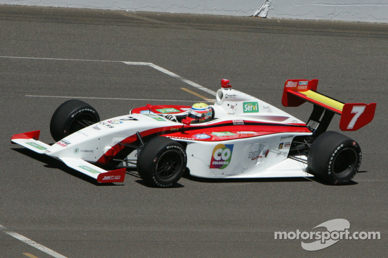 Chaves continues pursuit of Indy Lights title with second place finish in Iowa