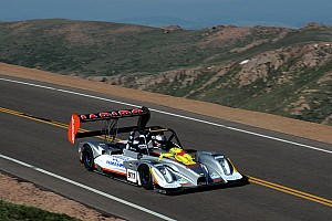 Romain Dumas's chances dashed at Pikes Peak
