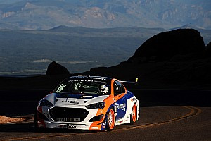 Hankook driver Paul Dallenbach sets time attack world record at Pikes Peak