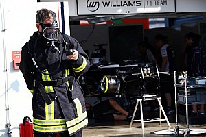 Smoke in Williams F1 Team garage - official statement
