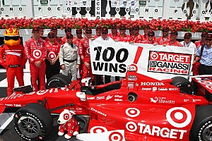Double podium for team Target at Pocono results in 100th win for Target