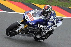 Lorenzo retires following Sachsenring free practice crash