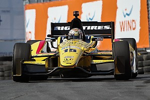 RLL's Rahal qualified 20th for Race 2 in Toronto
