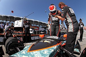 Carlos Munoz to replace Ryan Briscoe for Panther Racing Sunday in Toronto