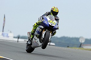 Yamaha's Rossi delivers in Germany for Sachsenring podium
