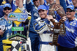 Vickers breaks winless streak with the victory at New Hampshire