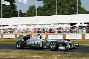 Formula One drivers feature in the 20th Festival of Speed at Goodwood
