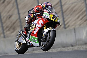 Bradl blasts into pole position in dying seconds at Laguna Seca