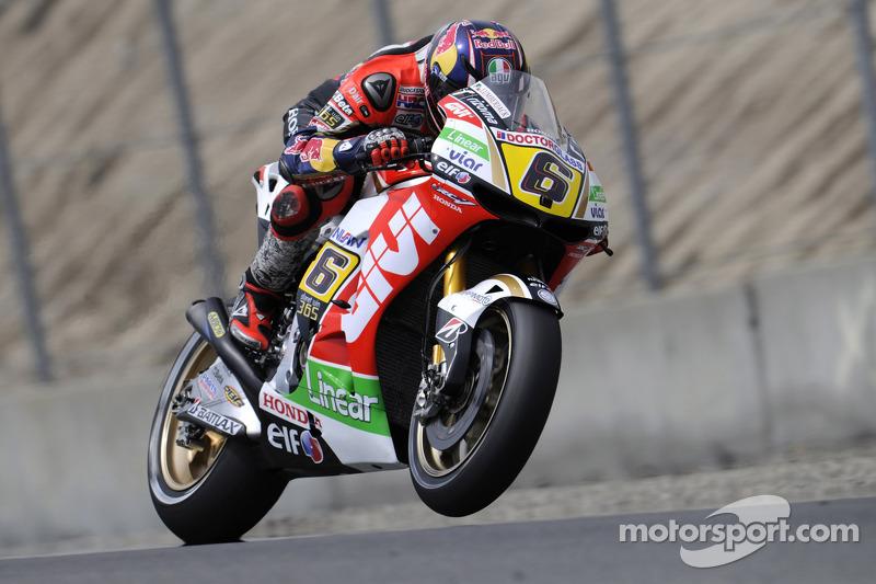 Brilliant Bradl takes first ever MotoGP pole position at Laguna Seca