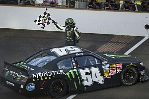 Kyle Busch thrashes Nationwide Series field at Indy