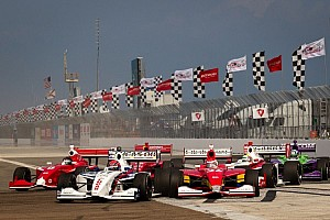 First step toward enhancing the current Indy Lights chassis for 2014