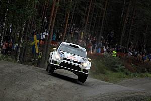 Thrilling three-way battle in Finland – Volkswagen driver Ogier sitting in 2nd