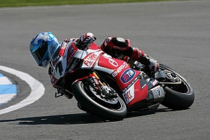Front row start for Checa and Team SBK Ducati Alstare in tomorrow's races at Silverstone