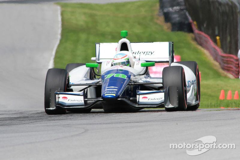 Simona De Silvestro Qualifies 9th for Indy 200 at Mid-Ohio