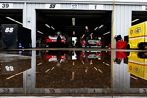 Adverse weather delayed opening day of on-track action at The Glen