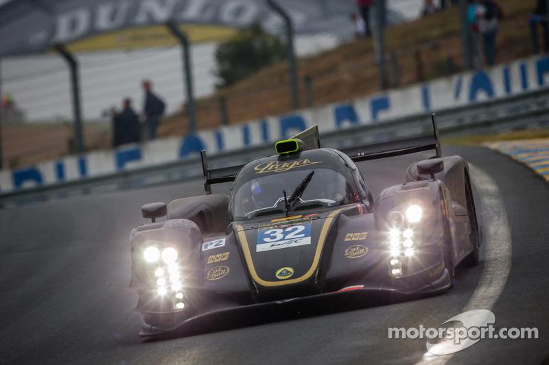 Lotus Praga LMP2 Inside: Jan Charouz
