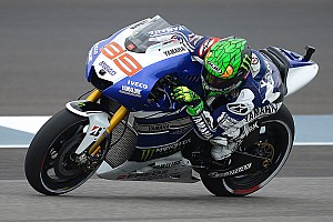 Lorenzo back on the front row at the Brickyard