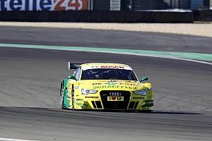 Audi driver Rockenfeller keeps cool at Nürburgring