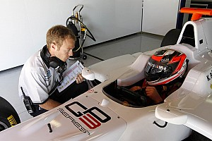 Raikkonen jokes after testing GP3 car