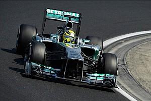 Rosberg happier with Hamilton as teammate - Brawn