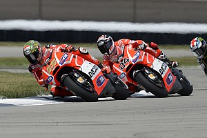 Ninth place for Hayden, tenth for Dovizioso at Indianapolis GP
