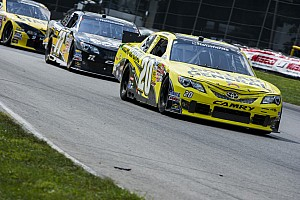 Brian Vickers going to get one more good finish at Bristol