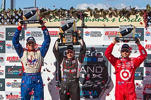 Justin Wilson takes best finish of 2013 with run to second in Sonoma