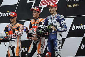 Bridgestone: Victorious Marquez continues record-breaking run in Czech Republic