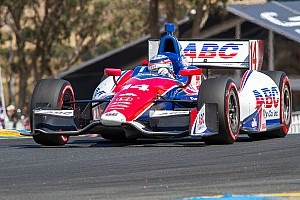 Foyt's Sato was collected twice at Sonoma