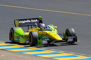 Rookie Vautier leads field Friday in Baltimore
