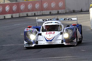 Dyson qualified the #16 Mazda Lola second in Baltimore