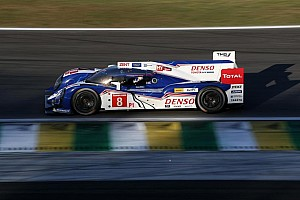 Second row start for Toyota Racing in Brazil