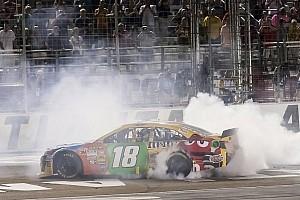 Kyle Busch wins at Atlanta to lock into Chase