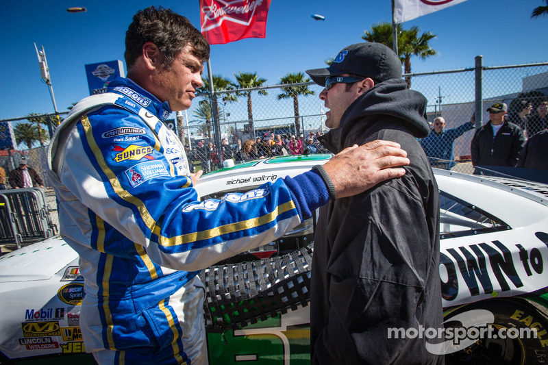 Michael Waltrip says parking Rodney Childers was a business decision