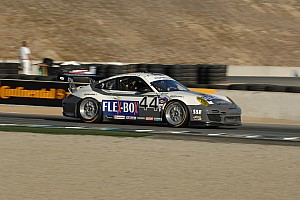 Magnus Racing Porsche reclaims GT points lead at Laguna entering final round