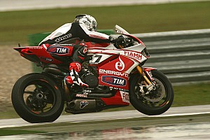 An extremely unlucky day for Team SBK Ducati Alstare today at Istanbul Park