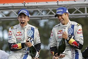 Perfect performance: Volkswagen driver Sébastien Ogier wins in Australia