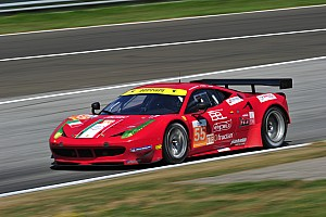 AF Corse Ferrari, two podiums at the Hungaroring