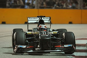 Sauber evaluated updated package on Friday pratice for the Singapore GP